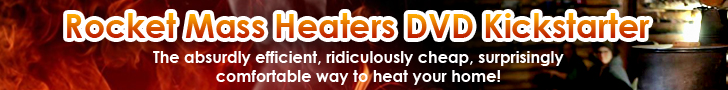 rocket mass heater kickstarter