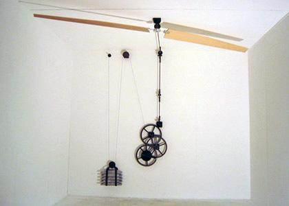 Non Electric Ceiling Fans Belt Driven Perpetual Motion