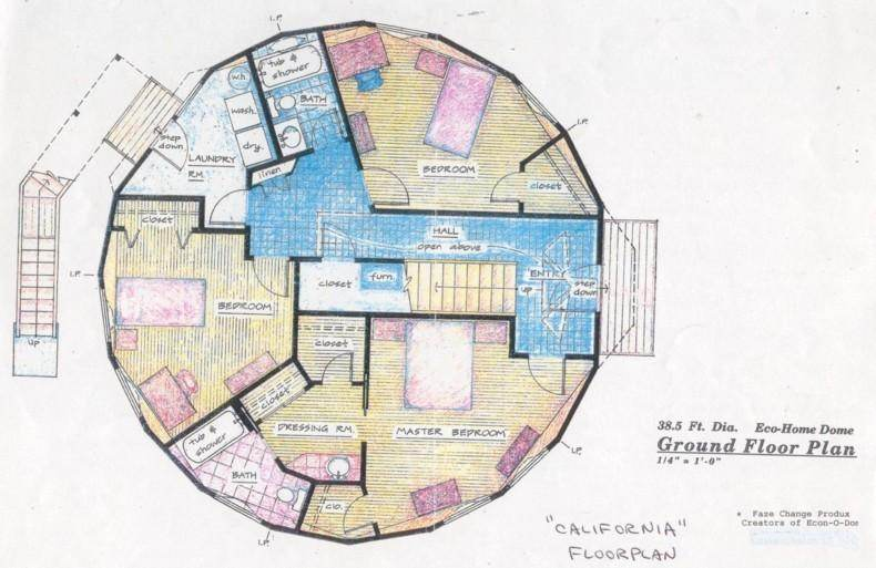 Thinking of building a geodesic dome home meaningless for Geodesic home plans