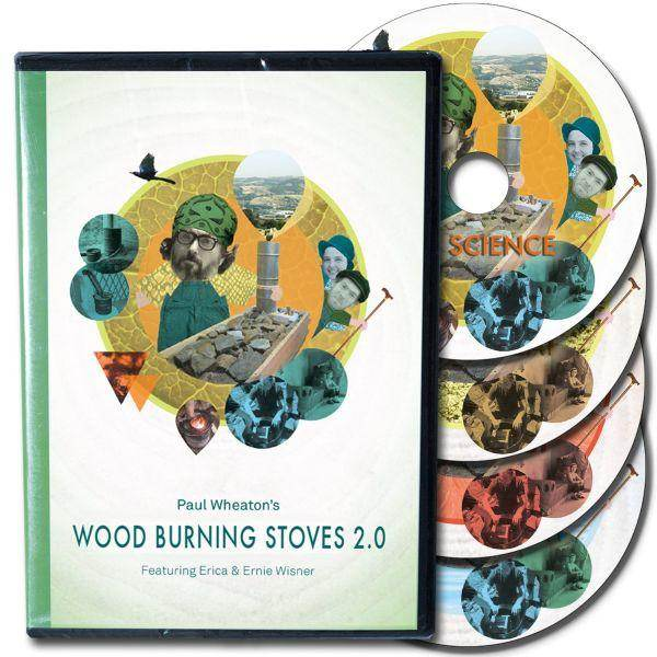 Wood burning Stoves 2.0 better wood heat, fire science, pocket rocket