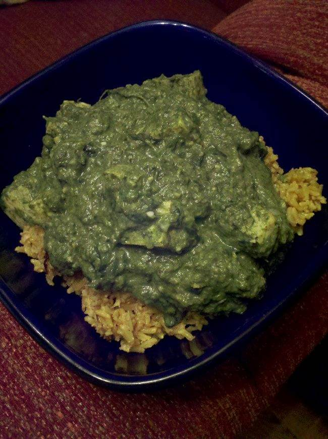 Saag indian style curried greens recipe cooking forum at permies i made liberal use of the immersion blender here but you can use a grater or food processor on the aromatics and a regular blender on the greens or a forumfinder Images
