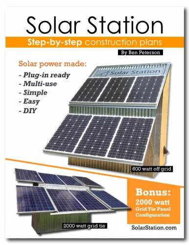 Solar Station: DIY Solar Plans by Ben Peterson (books forum at permies)