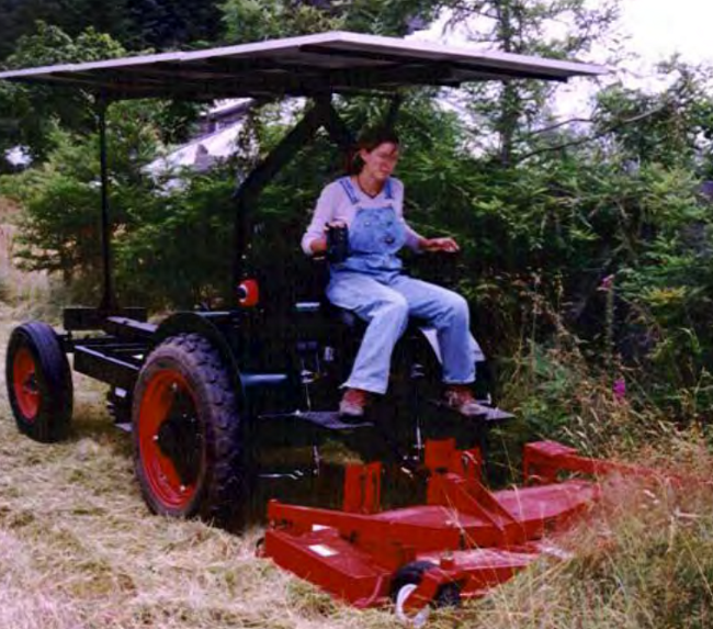 electric tractor (gear forum at permies)