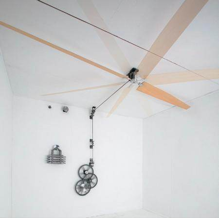 Non Electric Ceiling Fans Belt Driven Perpetual Motion