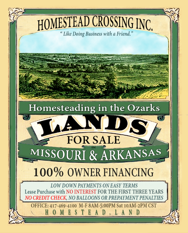 Owner Financed Land for Sale! (blatant advertising forum at