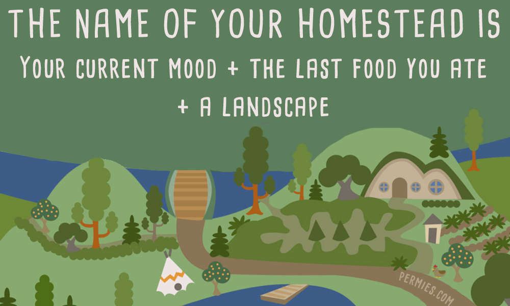 the name of your homestead is meme