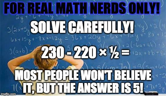 for real math nerds only (meaningless drivel forum at permies)
