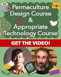 online permaculture design course and appropriate technology course video