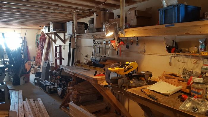 Zone III (Carpentry station) // before