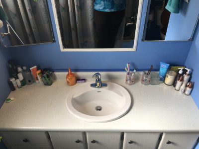 Sink & Counter - After