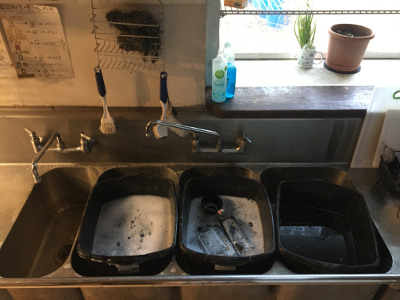 Dish Washing & Water Collection