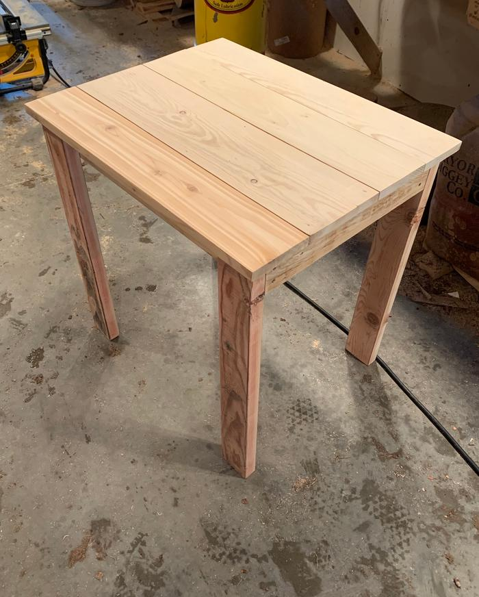 Finished the table today