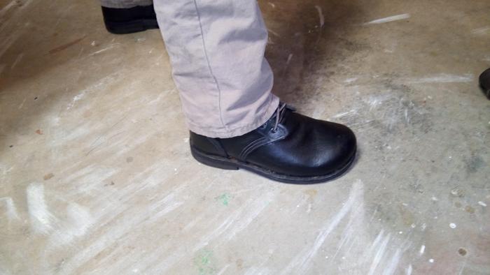 leatherwork shoes