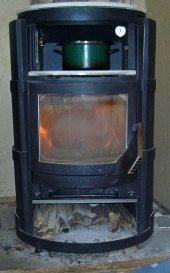 how to stop a wood burning stove from smoking