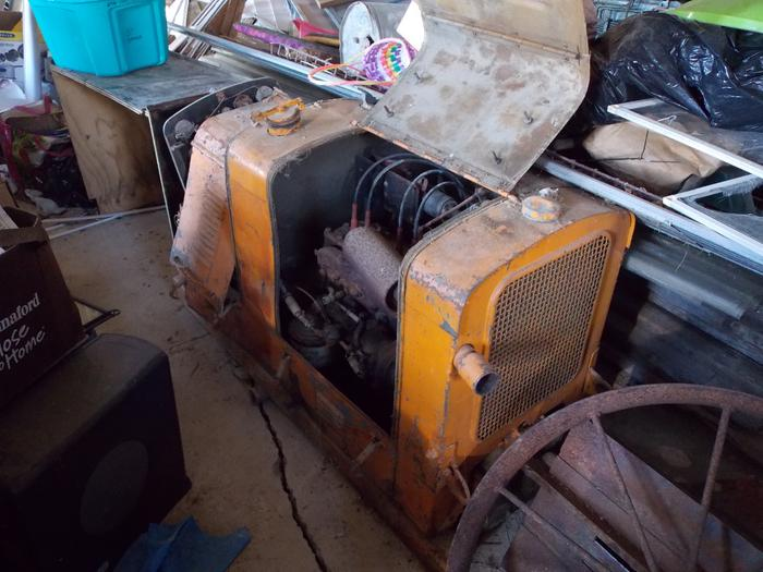 1943 3 KW 1 or 3 phase Generator 4 cyl gasoline or propane