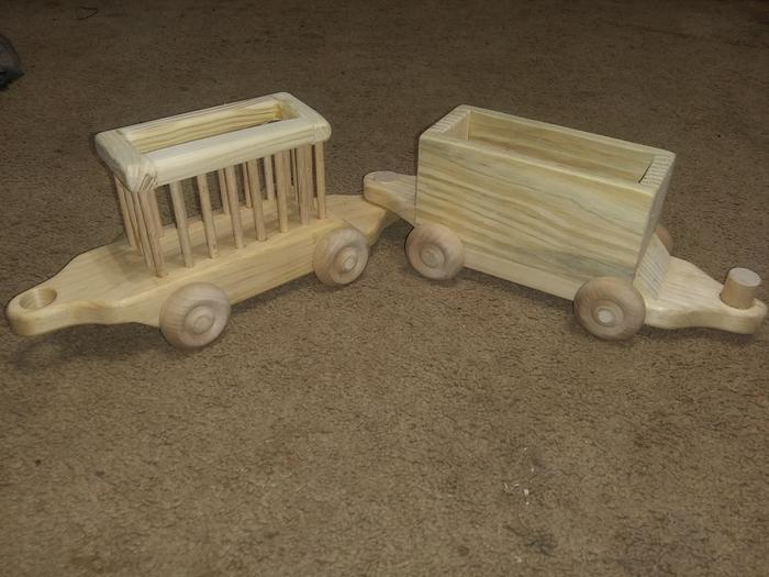 Zoo car and Boxcar