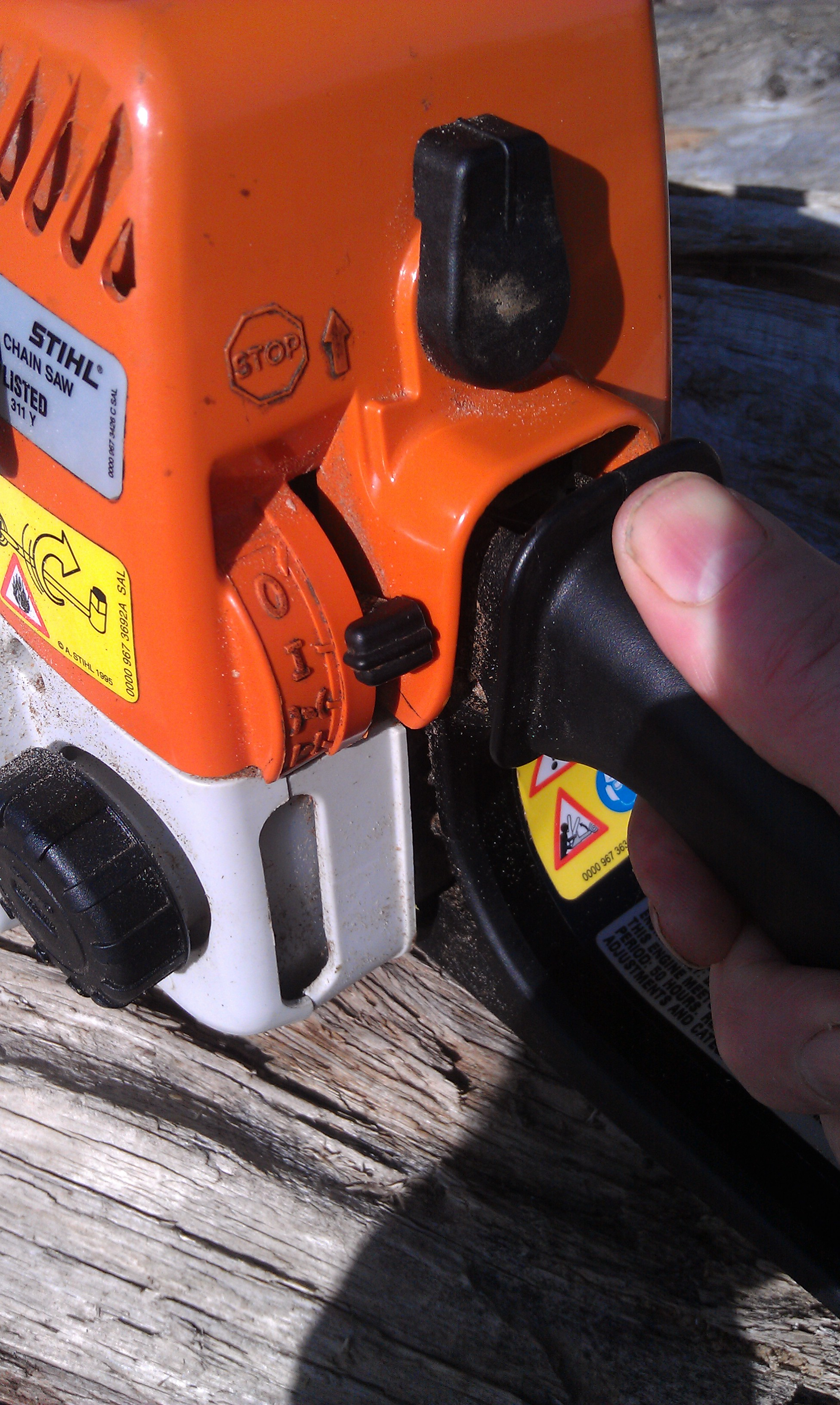 chainsaw troubleshooting (woodland forum at permies)
