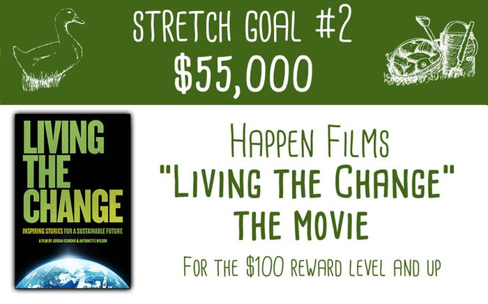 "Stretch Goal #2 Happen Films' ""Living the Change"""