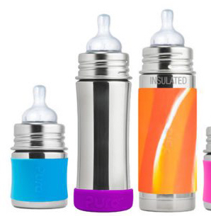 stainless steel insulated baby bottle