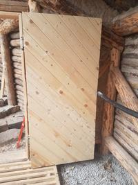 hand-built eco-friendly door