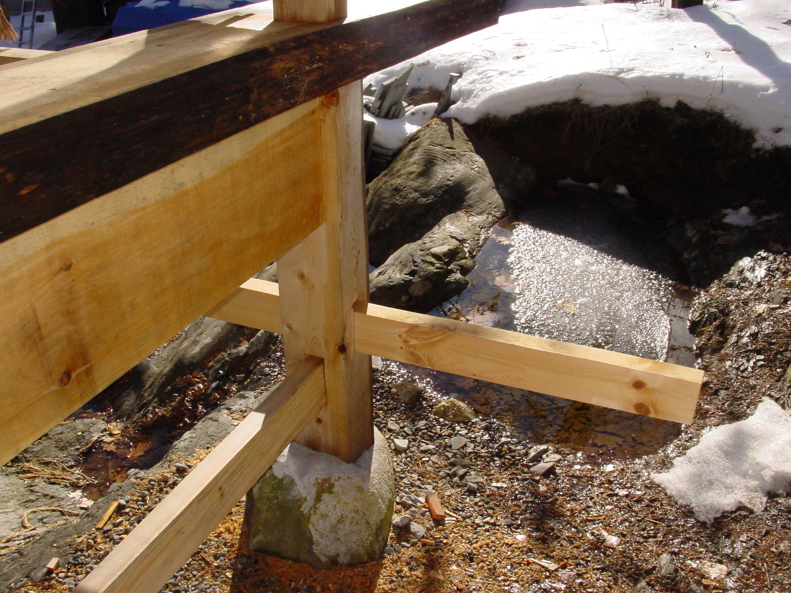 about post and beams and stone foundations -preventing rot ... on construction house designs, timber frame cottage, timber frame home, timber frame kitchen, timber frame ideas, timber frame landscaping, timber frame additions, timber frame interior design, timber frame lighting, timber frame ceiling, roof house designs, timber frame books, timber frame bathroom, landscaping house designs, timber frame construction, timber home designs, timber frame bedroom, post frame house designs, timber frame furniture, timber frame living room,