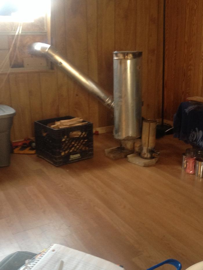 My Homemade Wood Stove Wood Burning Stoves Forum At Permies