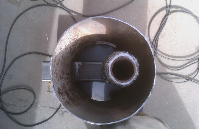 my homemade wood stove (wood burning stoves forum at permies)