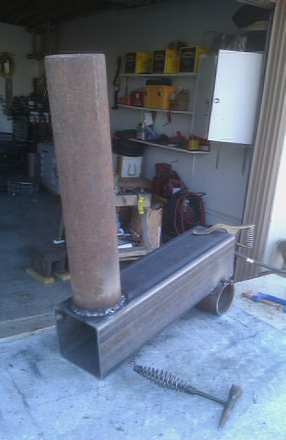 Cicip working more homemade wood burning stove for Diy wood stove design