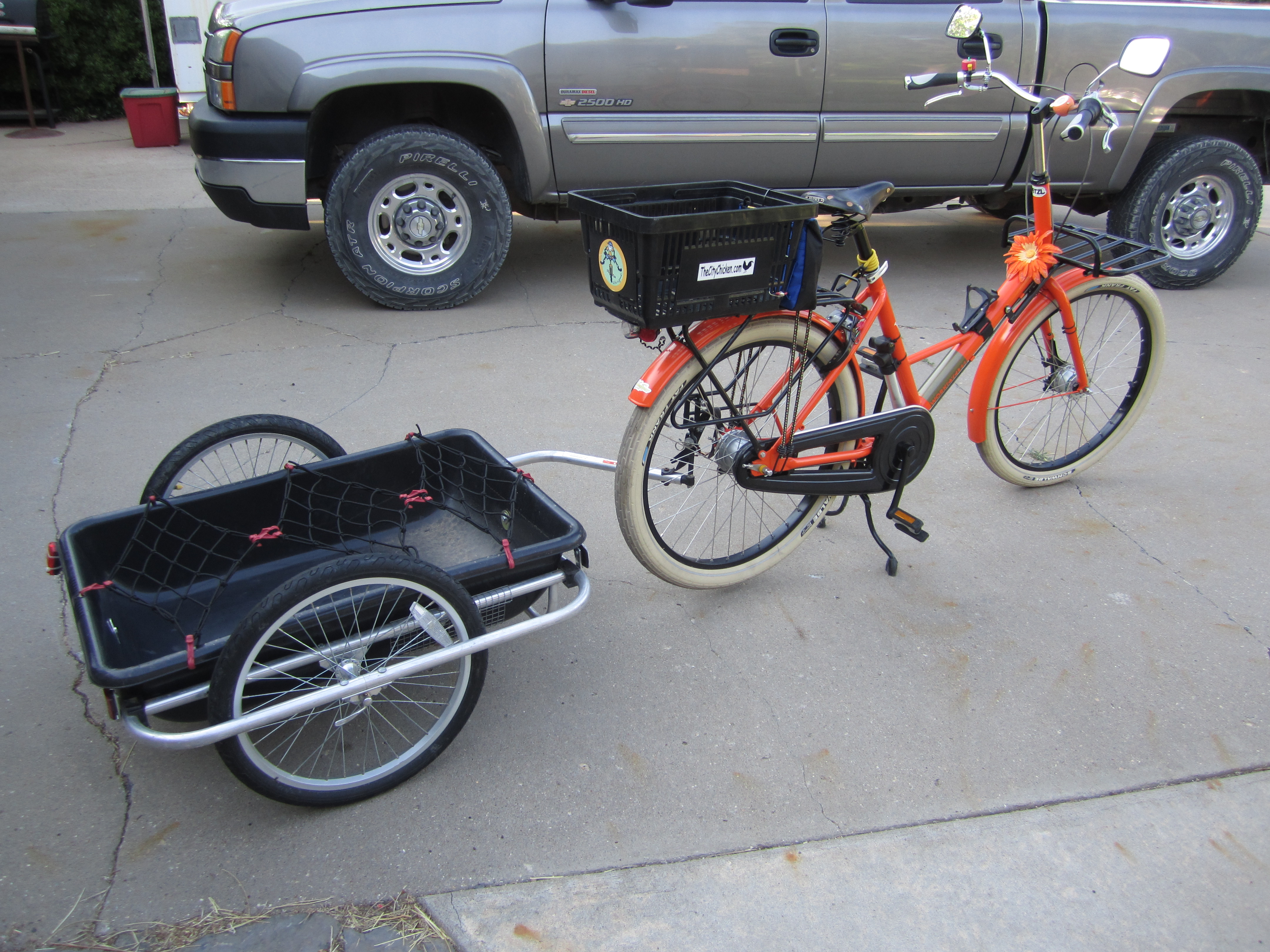 i want to build a big bike trailer bicycle forum at permies. Black Bedroom Furniture Sets. Home Design Ideas