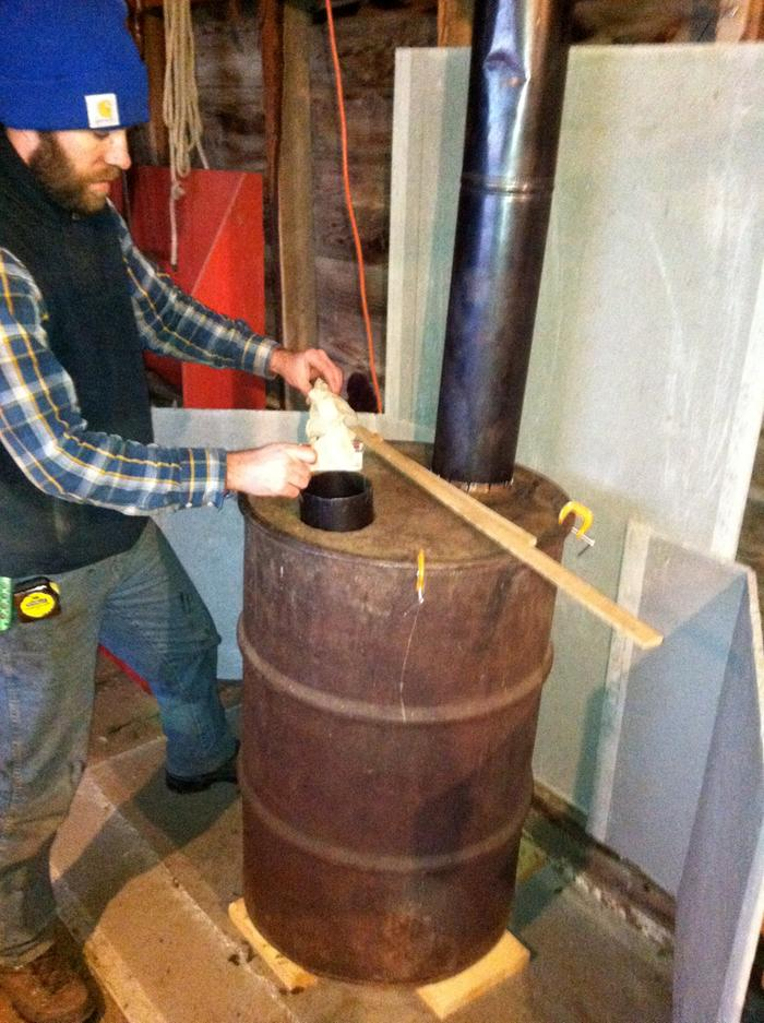 High Fuel Oil Costs Install A Pellet Stove And Save Money