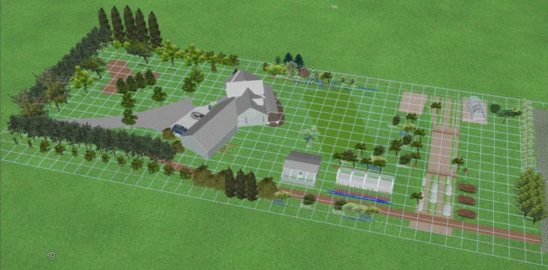 Small hobby farm layout pictures to pin on pinterest for Small farm design