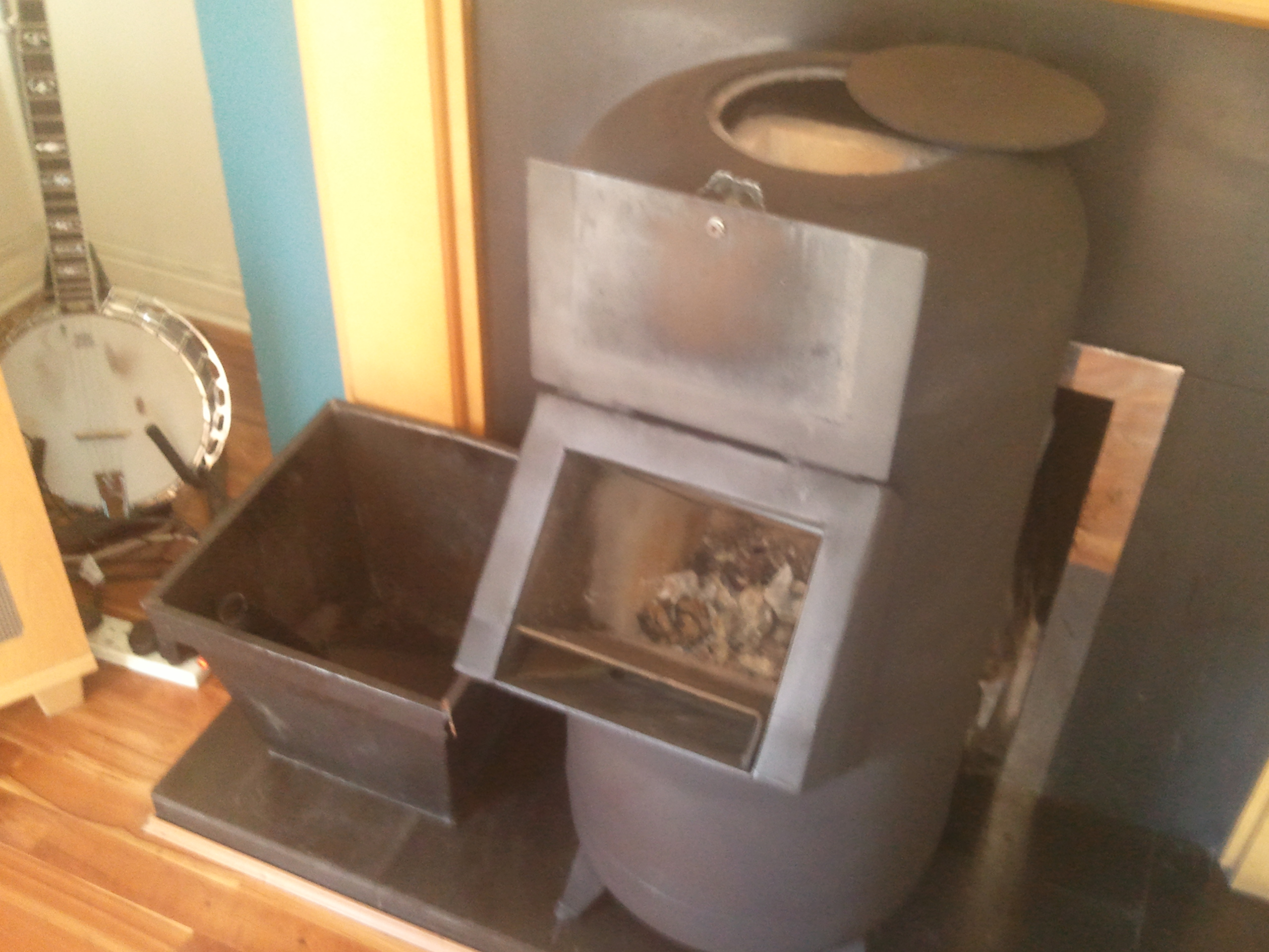 Will coal work for a rocket stove rocket stoves forum at for Rocket wood stove design