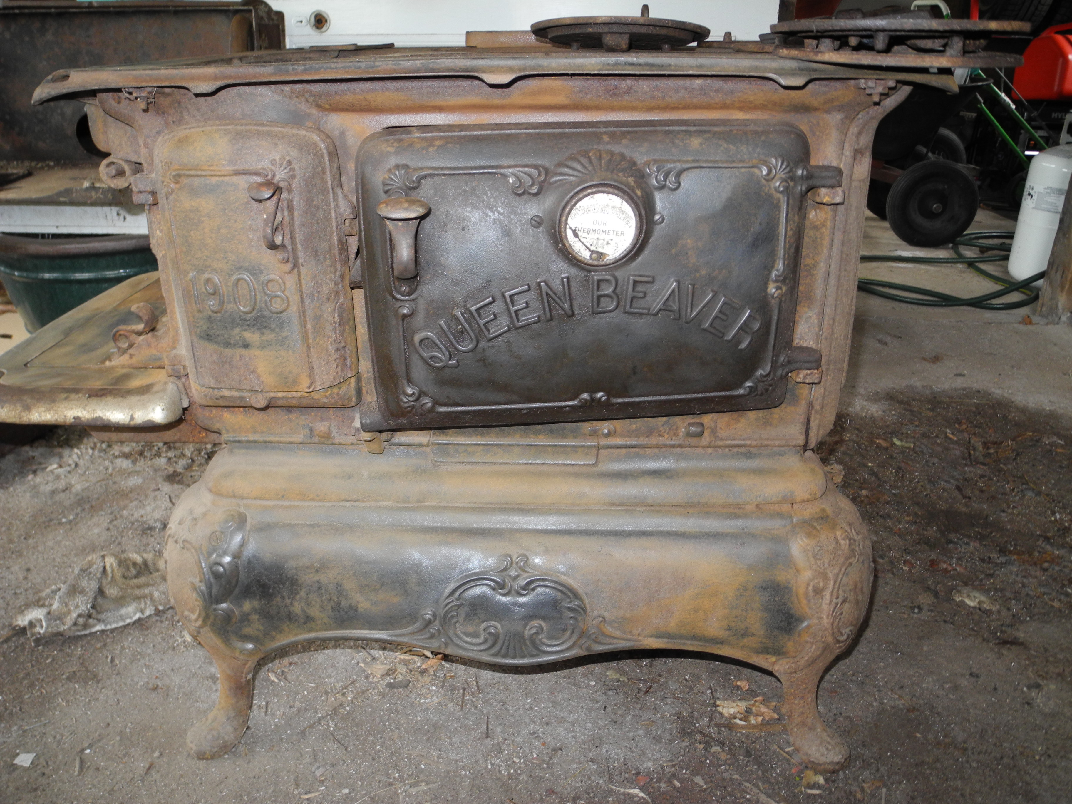 Antique Wood Cook Stoves Images