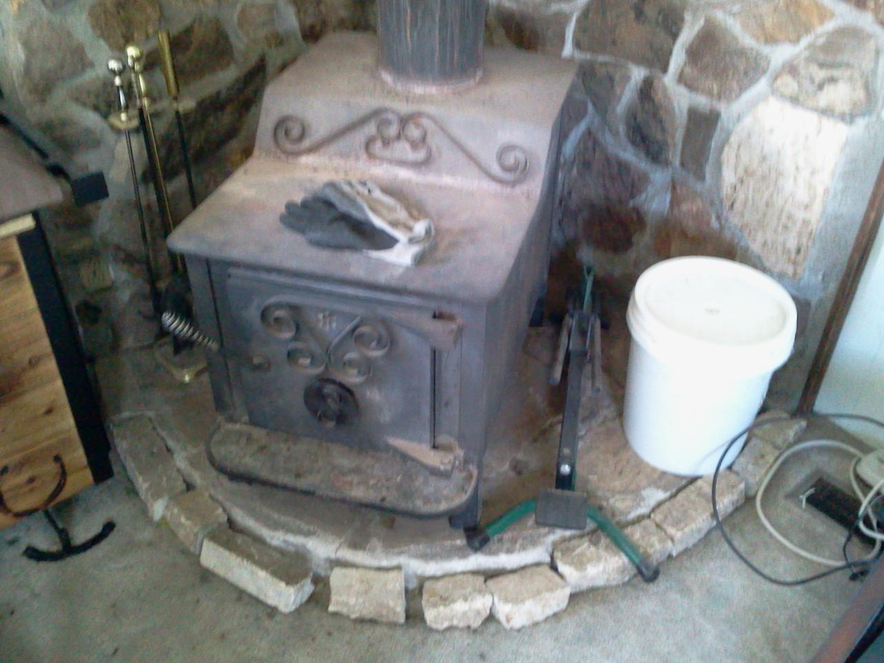 Suggestions for making a fireplace into a rocket mass for Wood burning rocket stove