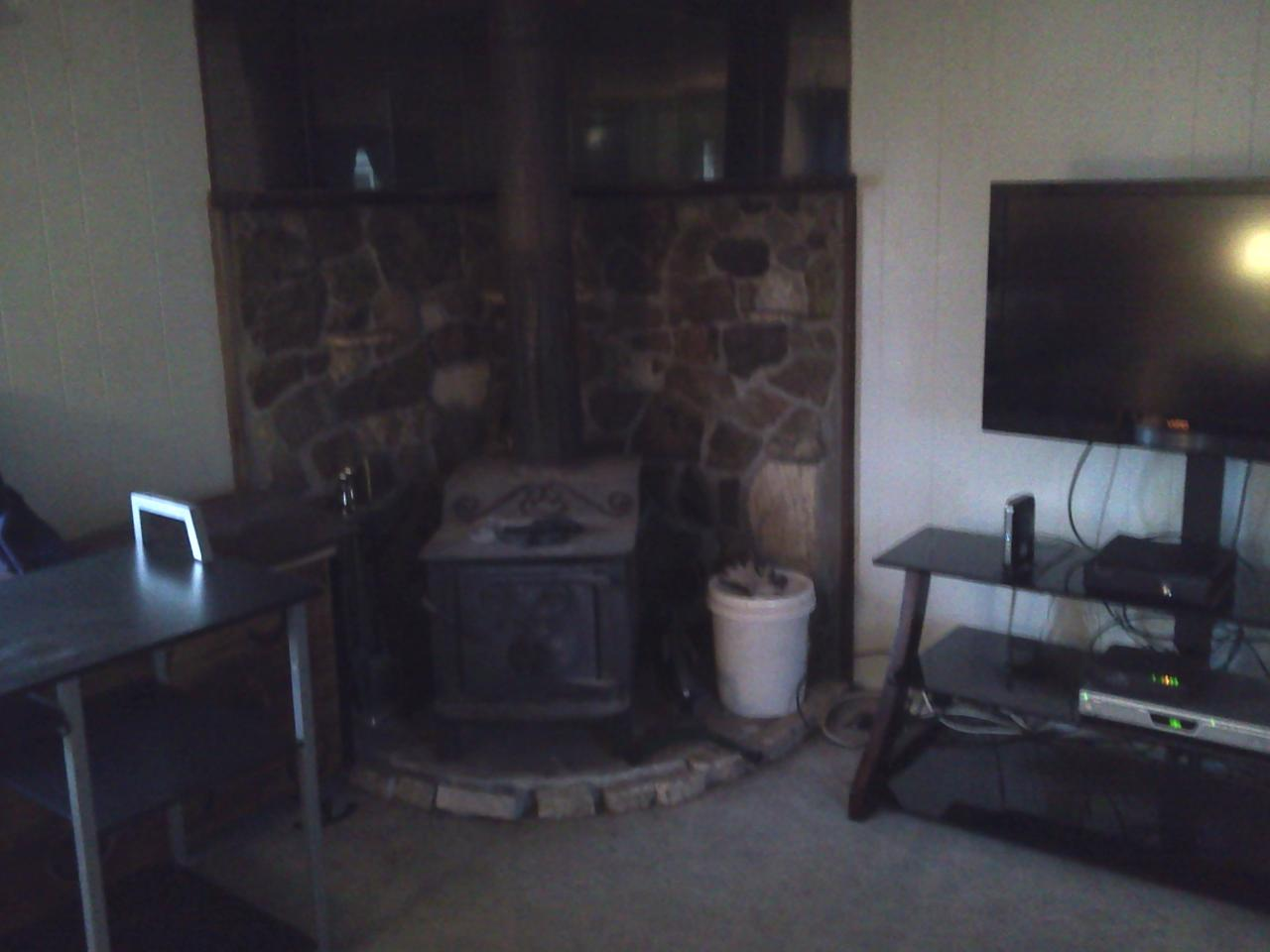 suggestions for making a fireplace into a rocket mass heater in a