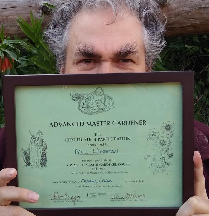 paul wheaton is a certified advanced master gardener