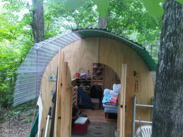 Semi Permanent Cabin Building Ideas Natural Building