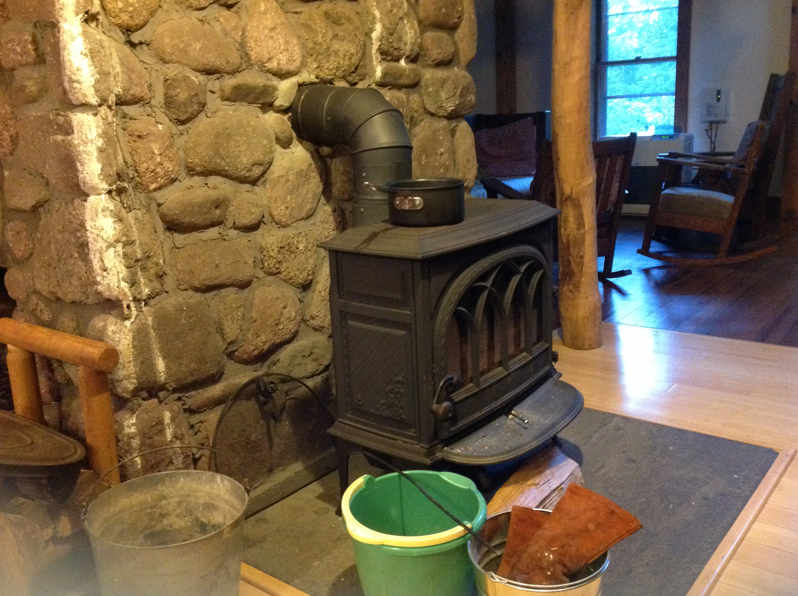 Why is my wood stove smoking so badly? (wood burning stoves forum ...