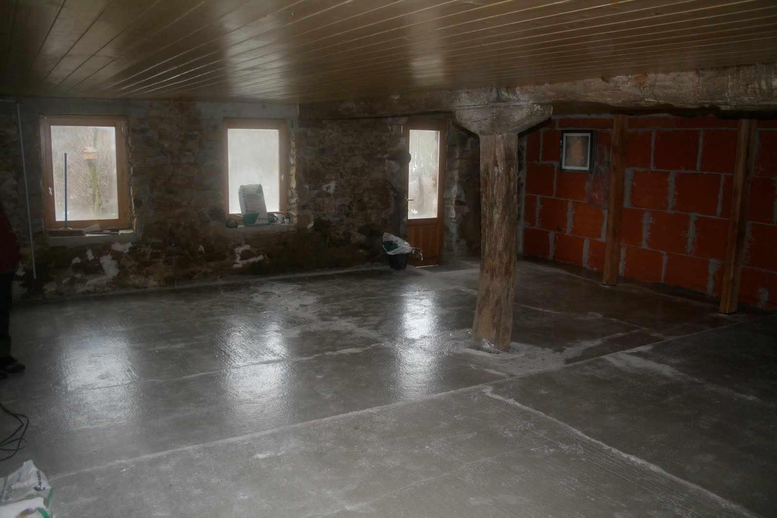 Earthen Floor Over Concrete Slab Earthen Floor Forum At