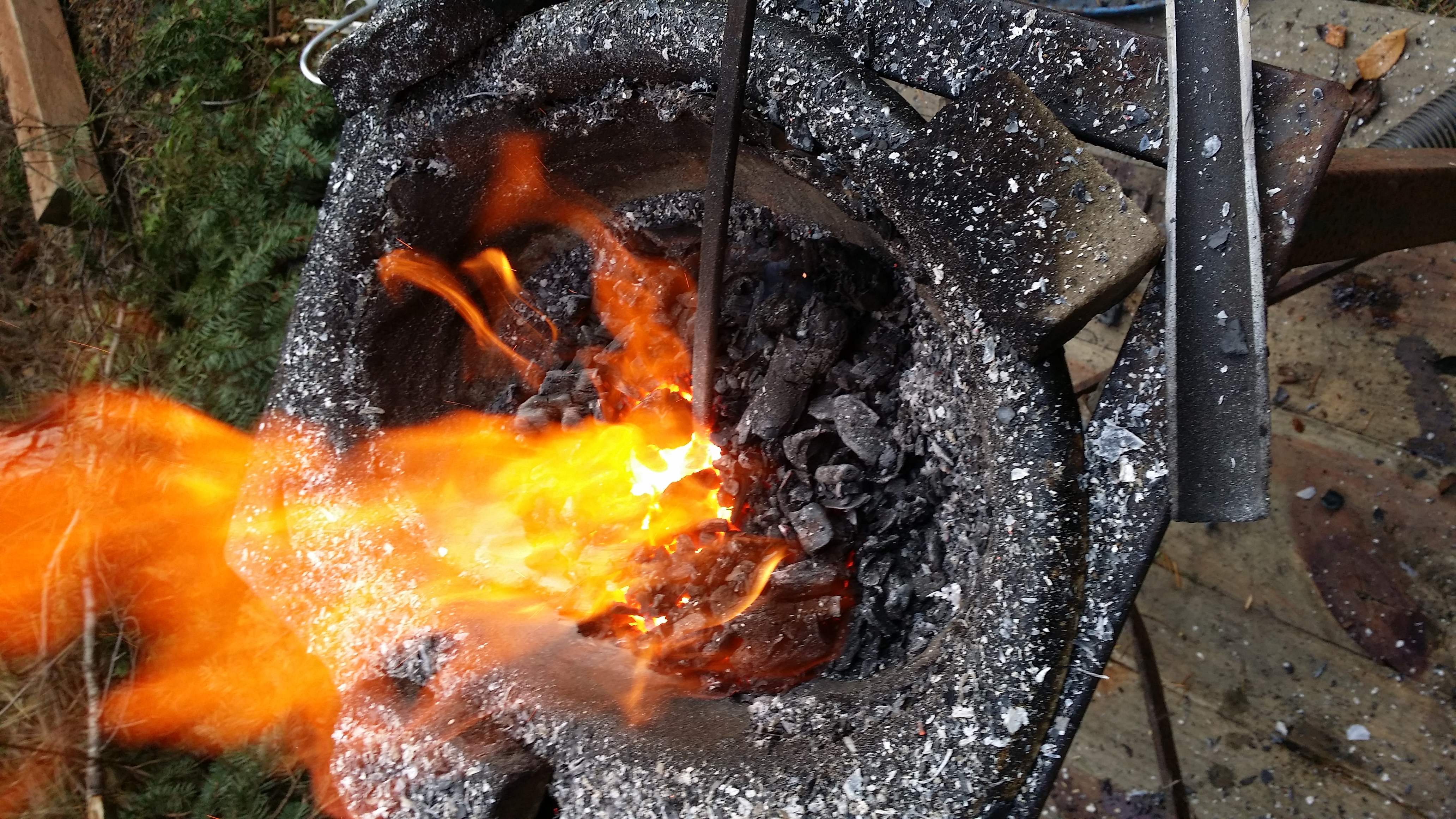 Wood Charcoal Blacksmithing Tips Tricks And Advice