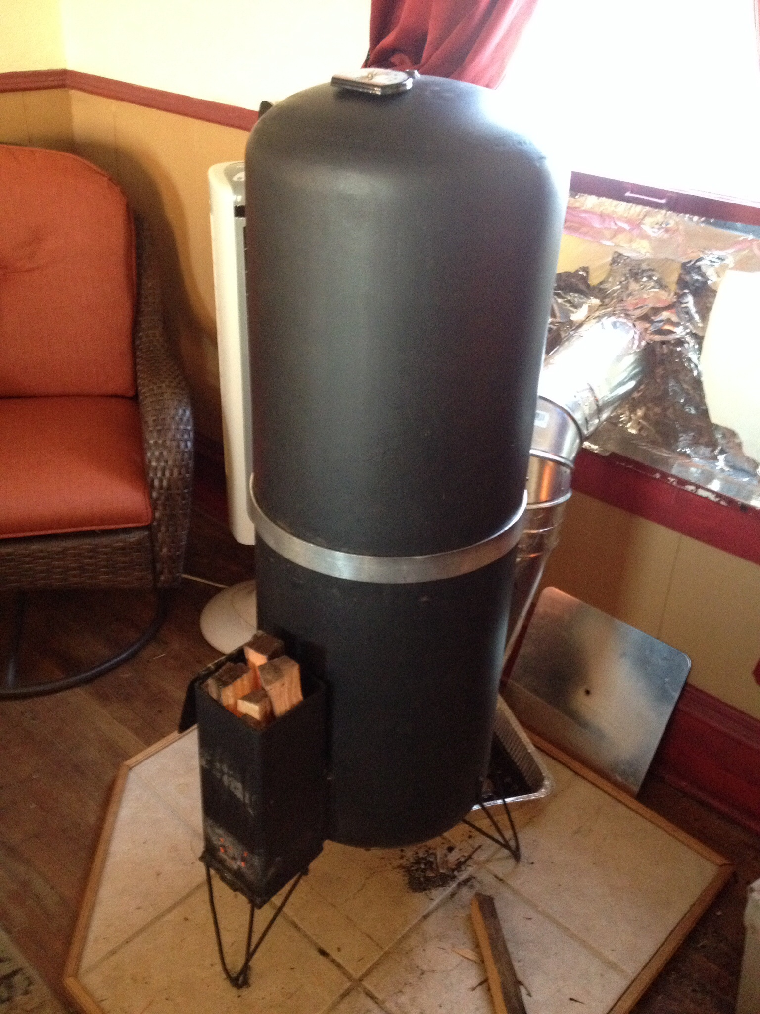 New Rocket Stove Project Rocket Stoves Forum At Permies