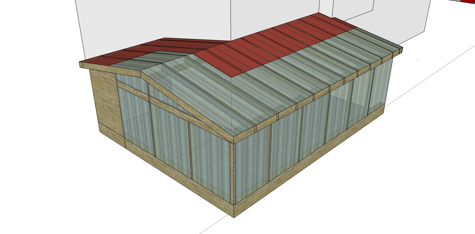 the start of my greenhouse design greenhouses forum at permies