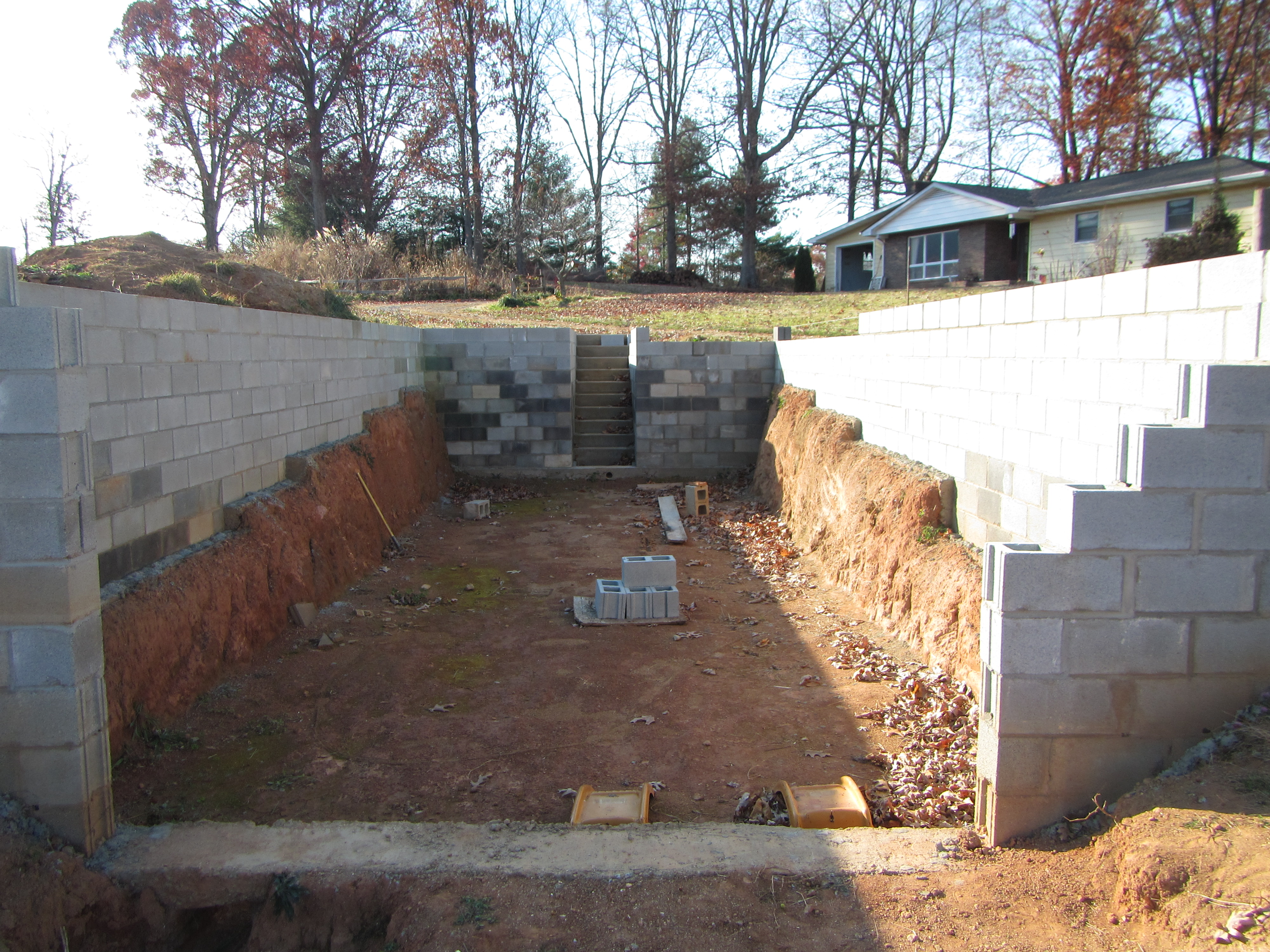Started Building The Walipini Today greenhouses Forum At