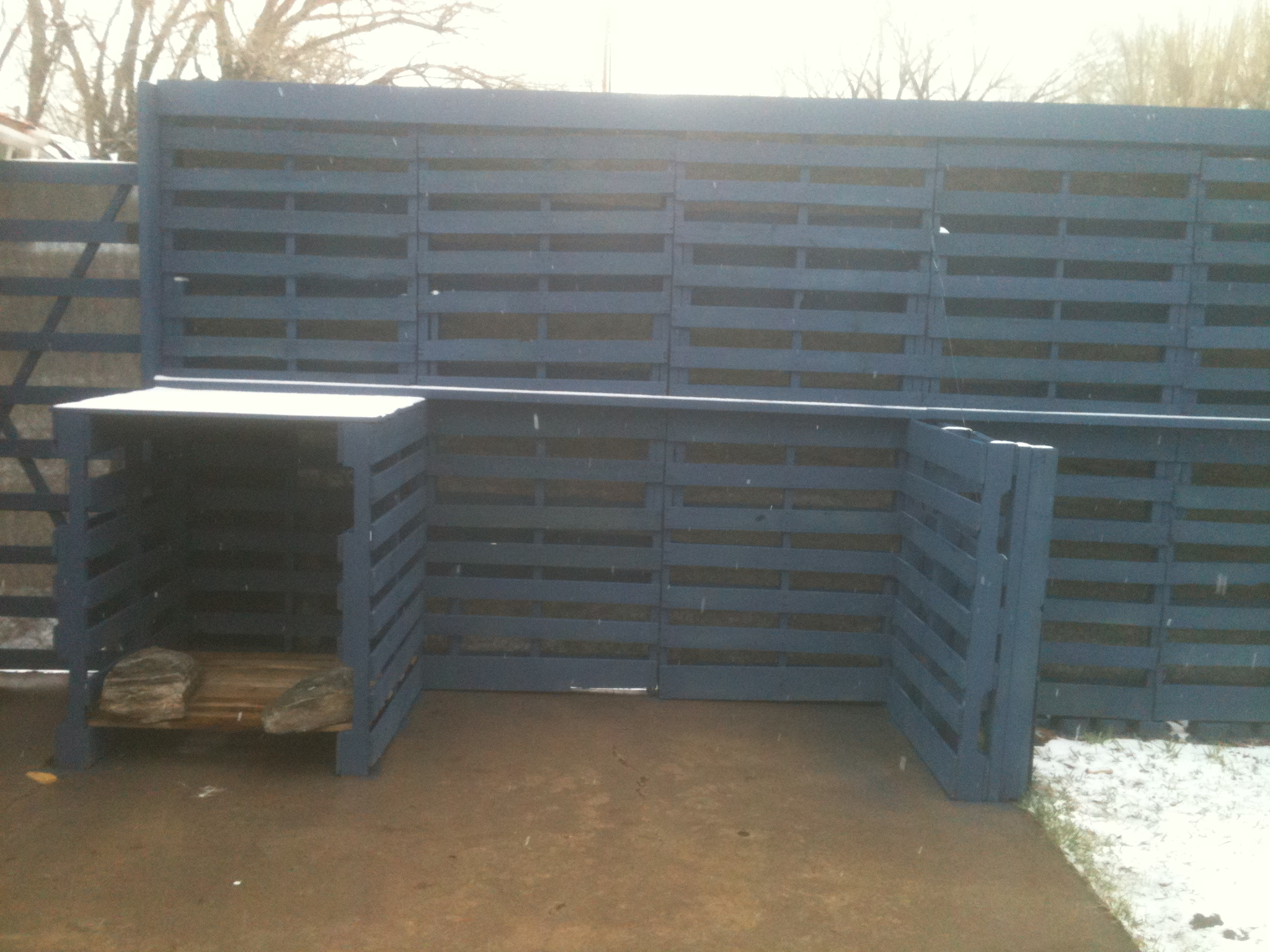 Image Result For Pallet Fence