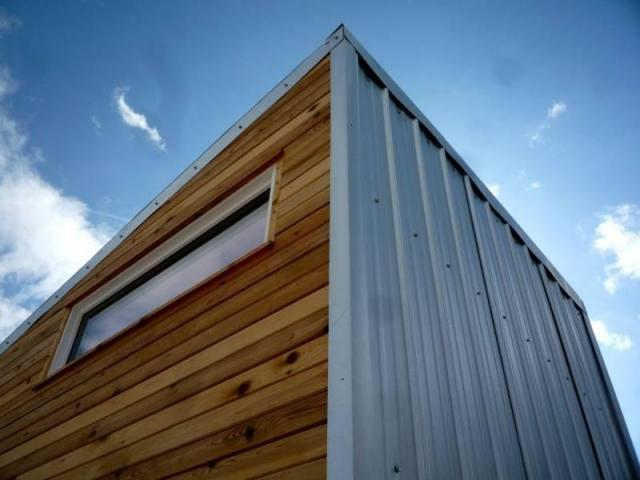 Composite wood siding panels exterior - Building A Tiny House Thinking Of Siding Options