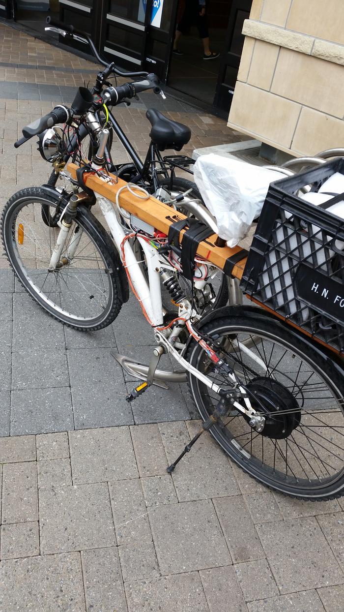 dale 39 s cordless chainsaw electric bike conversion. Black Bedroom Furniture Sets. Home Design Ideas