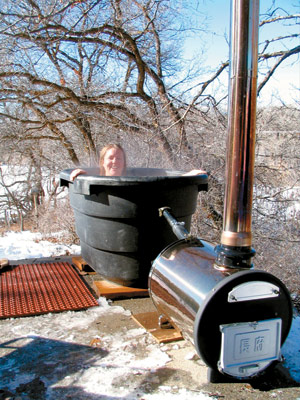 Wood Fired Hot Tub Heater Wood Burning Stoves Forum At