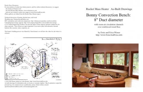 Bonny Convection Bench - 8 inch Rocket Mass Heater (rocket ...