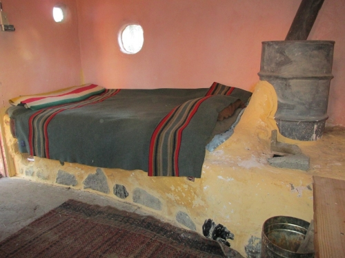 Daybed 6 With Bypass Rocket Mass Heater Rocket Stoves
