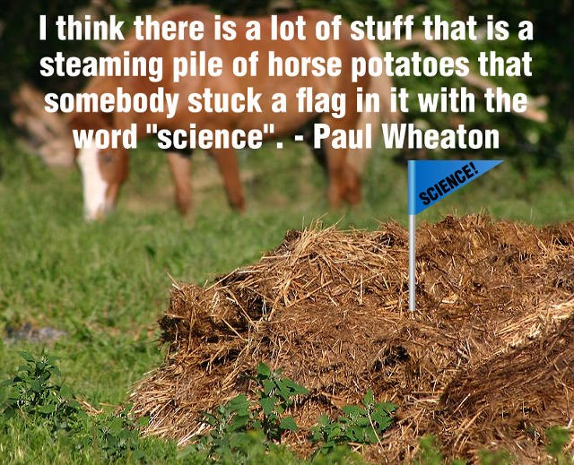 paul wheaton meme science horse potatoes